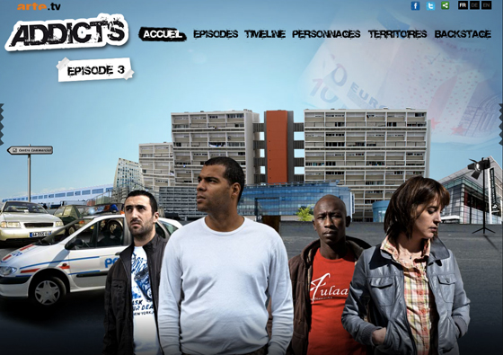 Addicts / 2010 / Webfiction