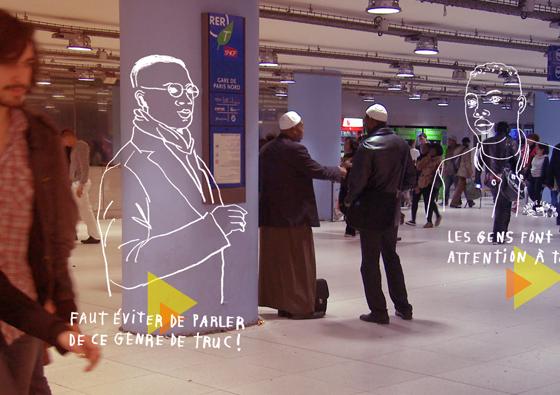Gare du Nord / 2013 / Voyage en gare