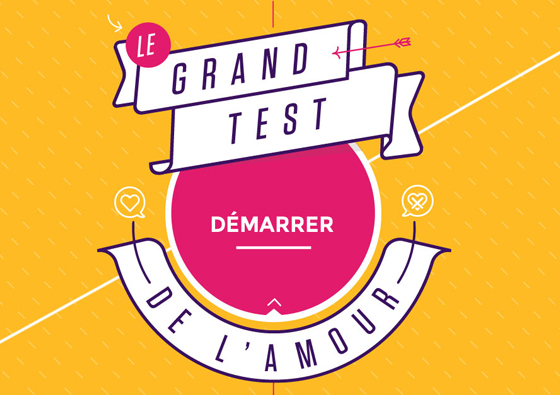 Le grand Test de l'Amour / 2016 / Jeu documentaire