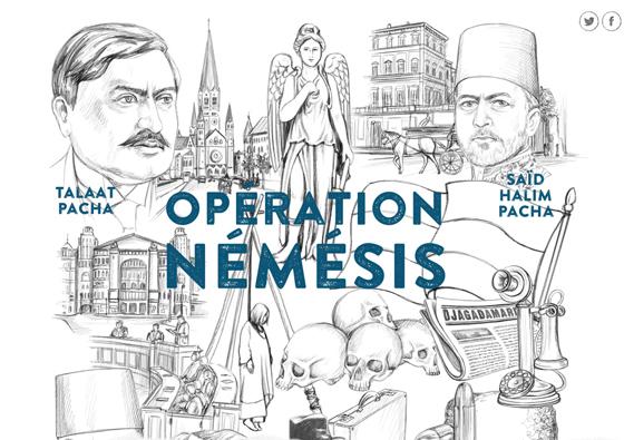 Opération Némésis / 2015 / Fresque interactive